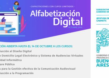 Se abrió la inscripción para los nuevos cursos de Alfabetización Digital
