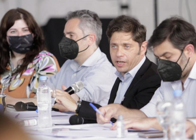 """Kicillof: """"En la salida de la pandemia, sumaremos todos los instrumentos para la recuperación del empleo y la producción"""""""