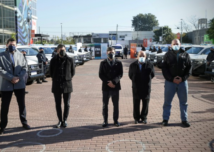 Se pusieron en funcionamiento 20 nuevos patrulleros en Berazategui