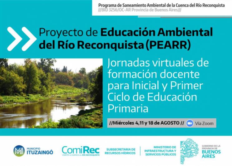 Jornadas de Educación Ambiental en Ituzaingó